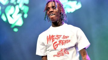 Famous Dex Gets His Chain Snatched by L.A. Goons