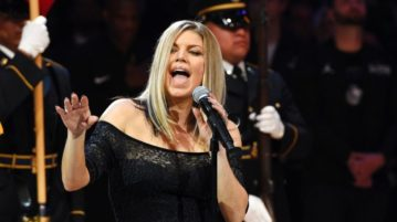 Fergie Apologizes for Cringe-Worthy NBA All-Star National Anthem Performance