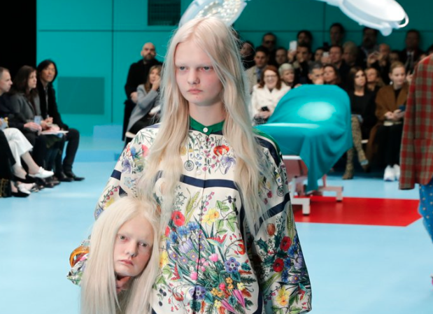 Gucci Models Lose Their Heads on the Runway, Twitter Reacts