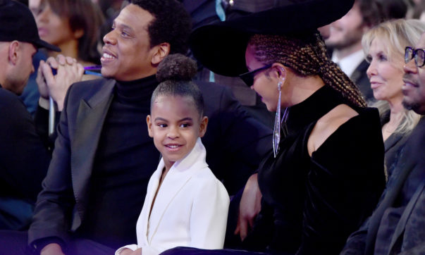 Blue Ivy Casually Bids $19K of Her Parents' Money on Art