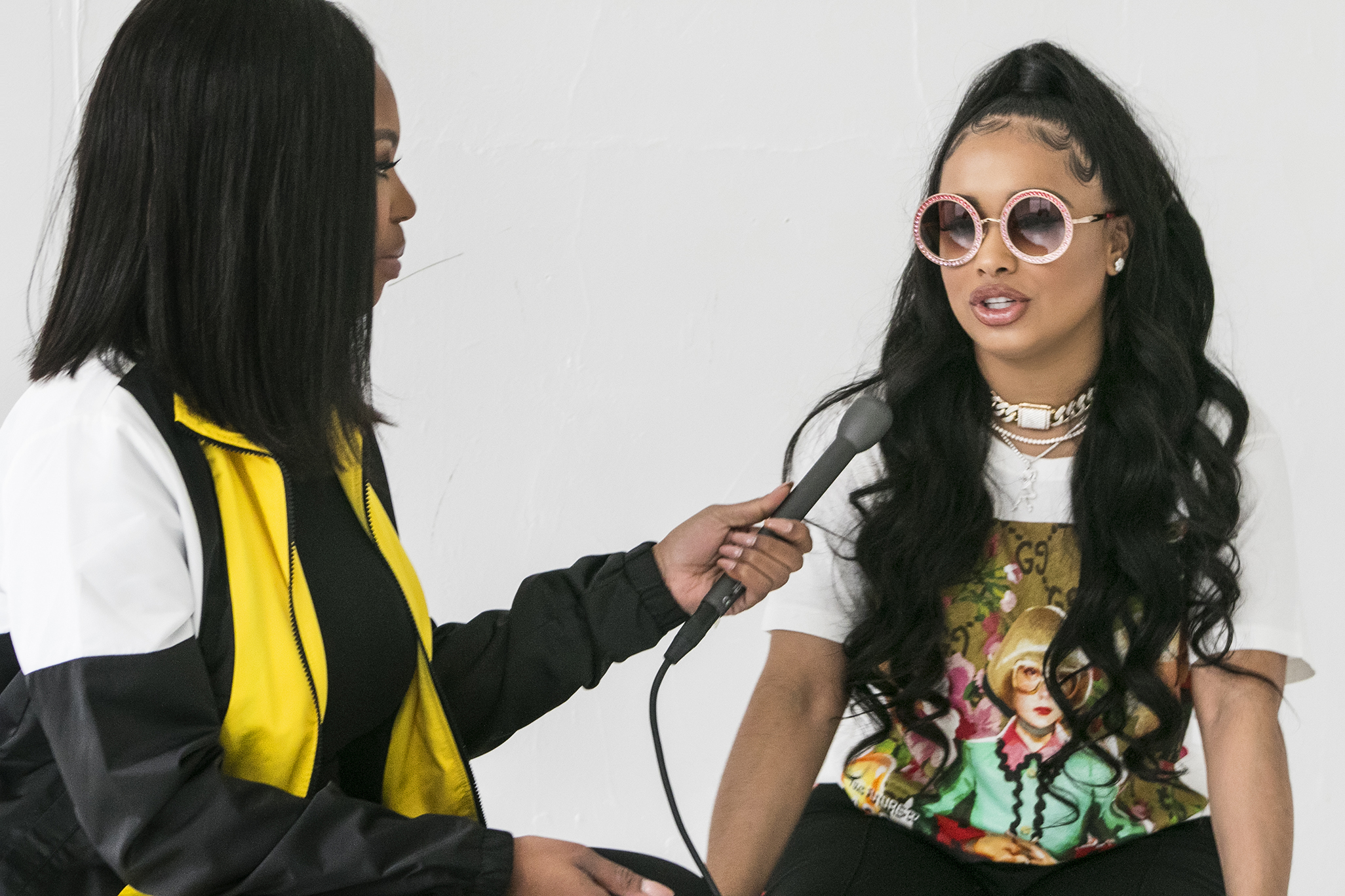 "EXCLUSIVE: Dream Doll Says She Made the Phrase ""Talk to Me Nice"" Relevant"