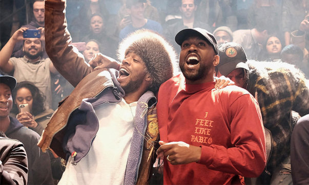 Kanye West Unveils Possible Artwork for Joint Kid Cudi Project