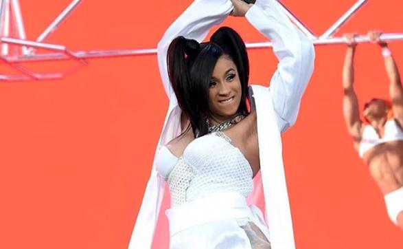 Cardi B Bodied Her Boachella Performance