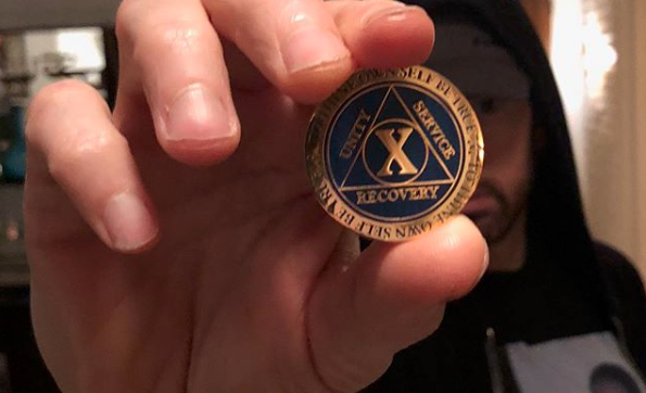 Eminem Celebrates 10 Years of Sobriety