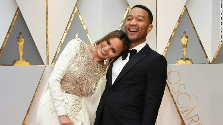 Cuteness Overload: Chrissy Teigen and John Legend Share Photo of Newborn Son Miles