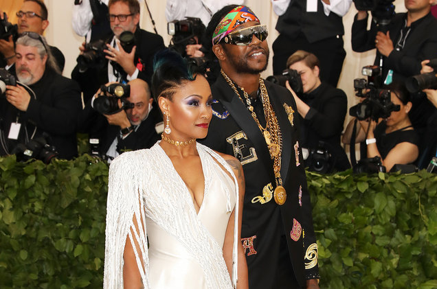 2 Chainz Proposed to His Wife Kesha Ward at the Met Gala