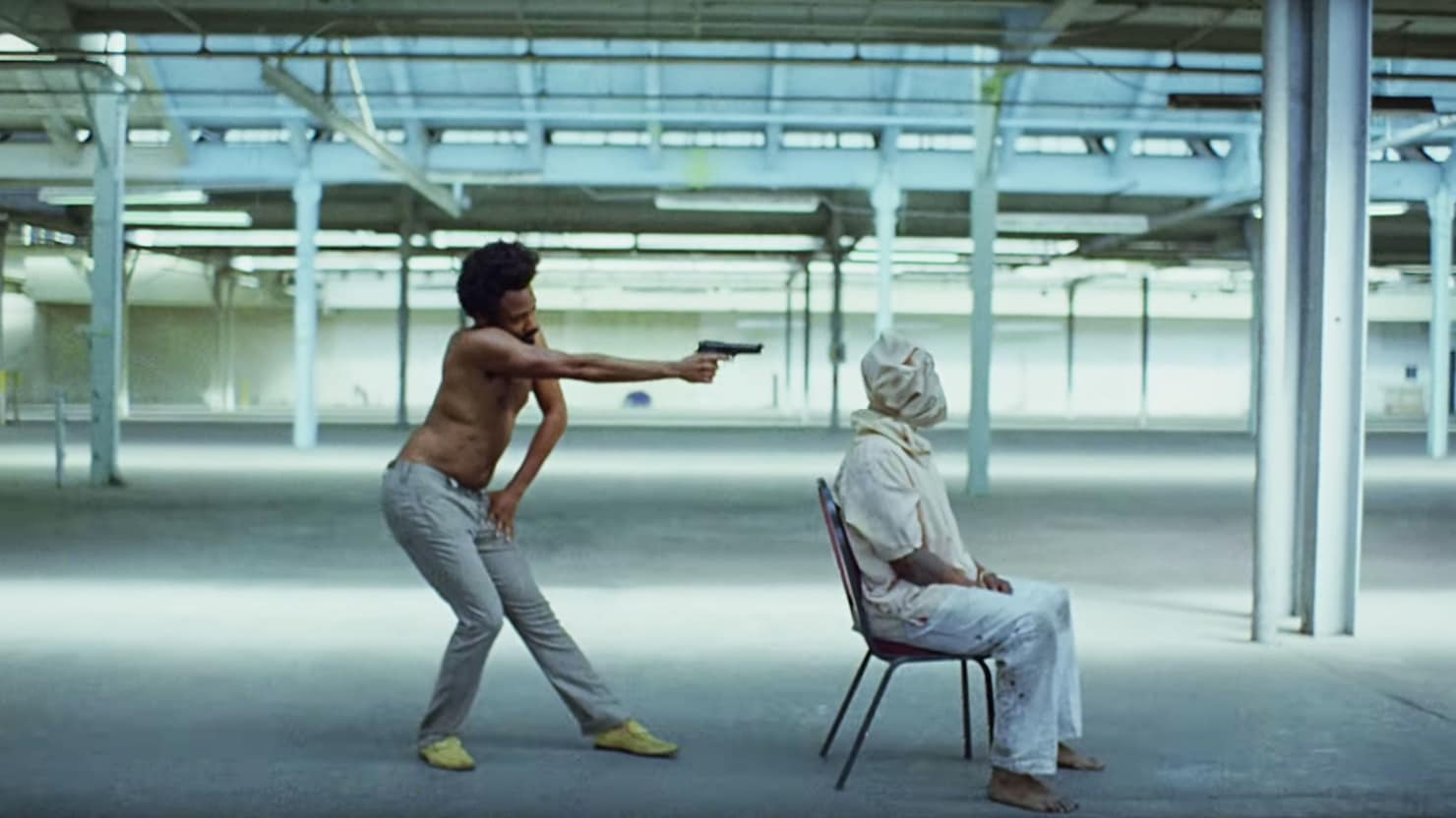 "Childish Gambino Refuses to Explain ""This is America"" Music Video"