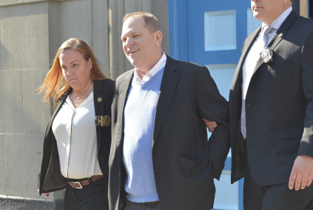 Harvey Weinstein Arrested on Rape Charges in NYC