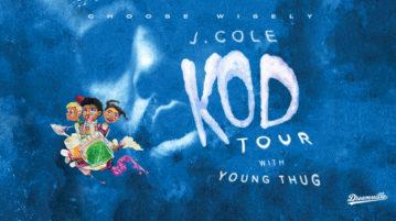 J. Cole to Embark on 'KOD' Tour With Young Thug
