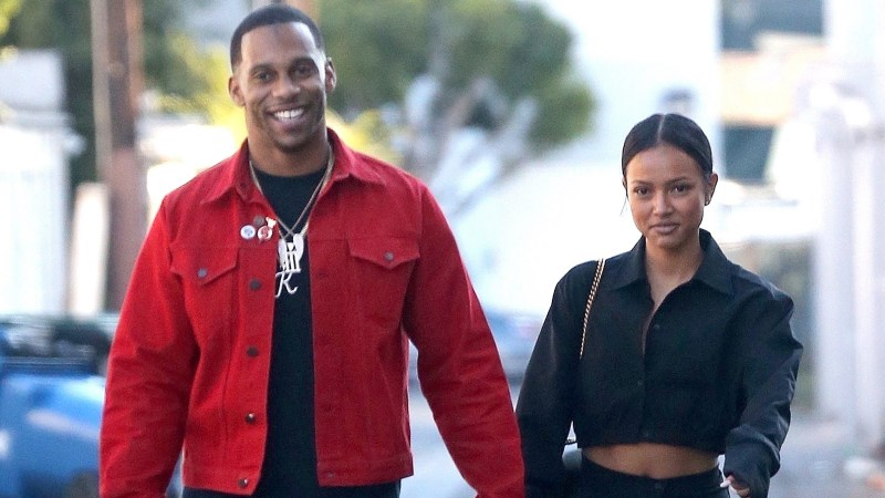 Karrueche Tran Opens Up About Relationship With Victor Cruz