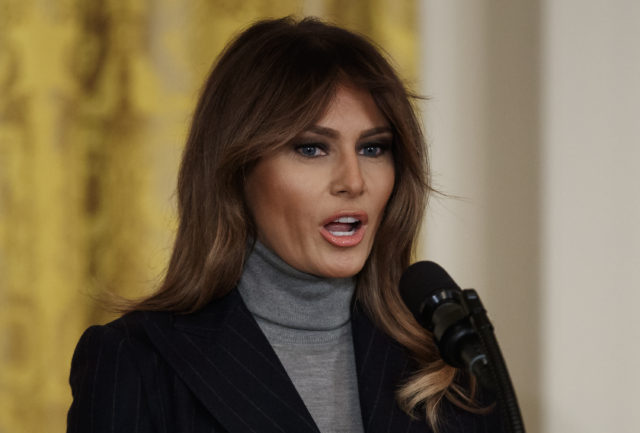Melania Trump Reportedly Hospitalized for Kidney Surgery