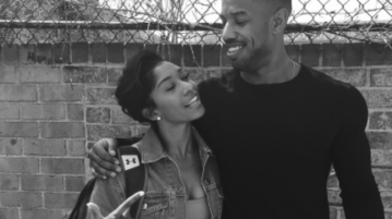 Michael B. Jordan Poses With Fan After She Slides in His DM