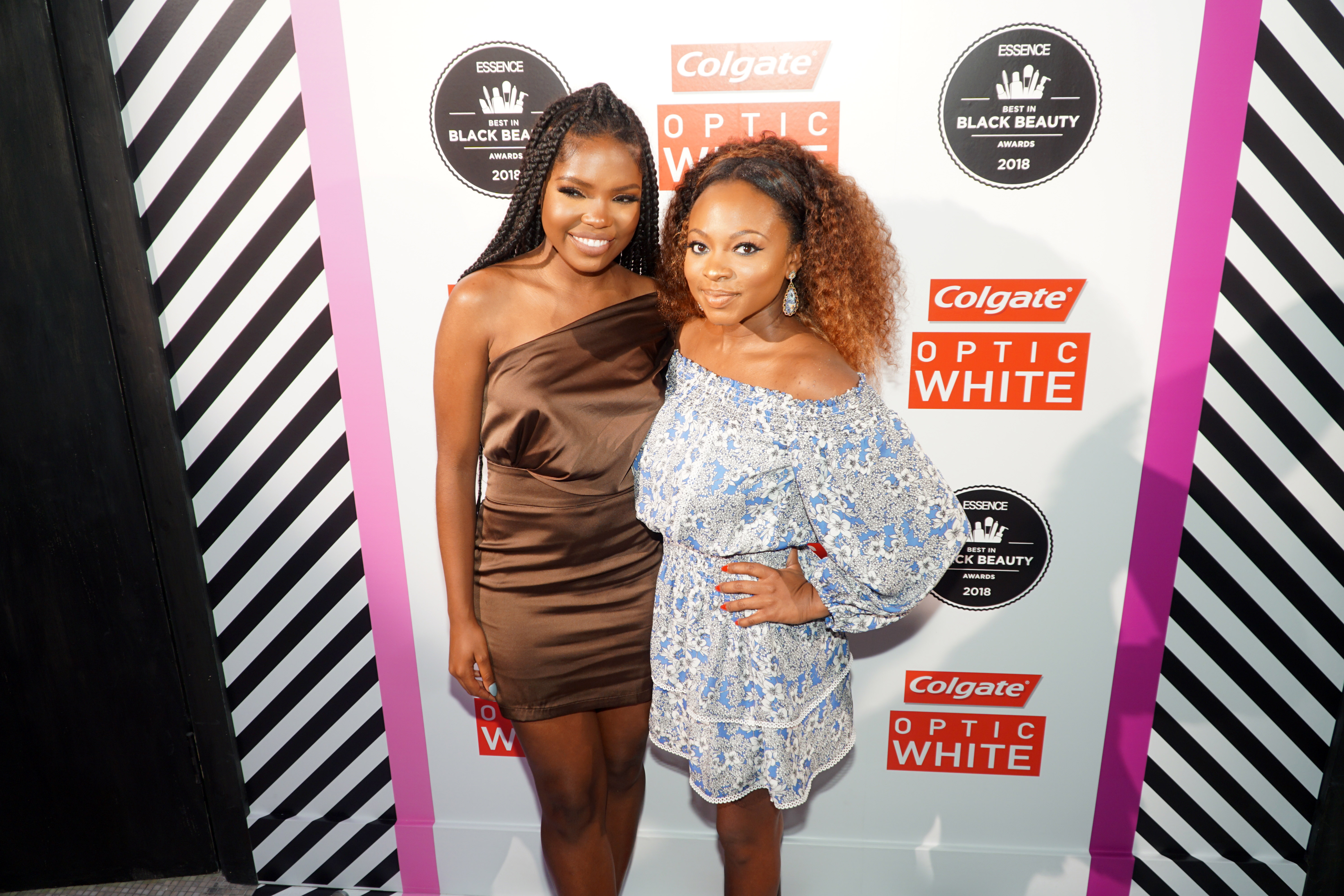 Naturi Naughton, Ryan Destiny Share Beauty Tips at the 2018 Best in Black Beauty