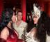 Nicki Minaj and Cardi B Seen Talking at the Met Gala Red Carpet