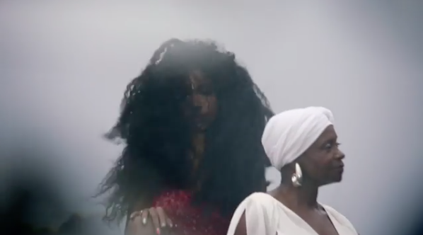 "SZA Previews ""Garden"" Video Starring Childish Gambino and Her Mother"