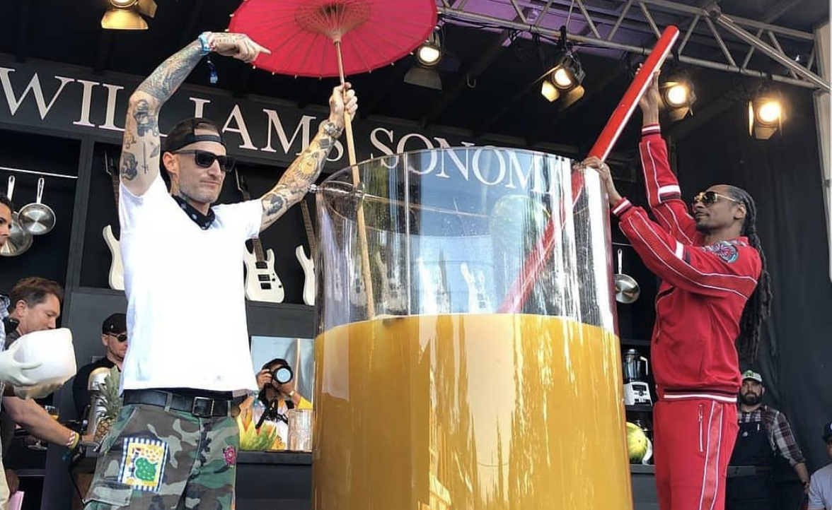 Snoop Dogg Breaks Gin and Juice Guinness World Record