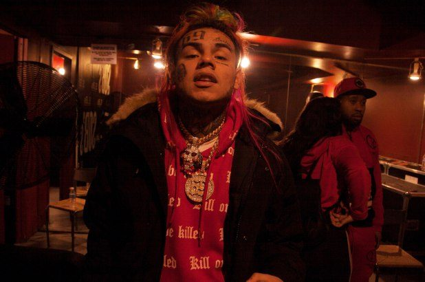 Tekashi 6ix9ine Arrested for Driving Without a License