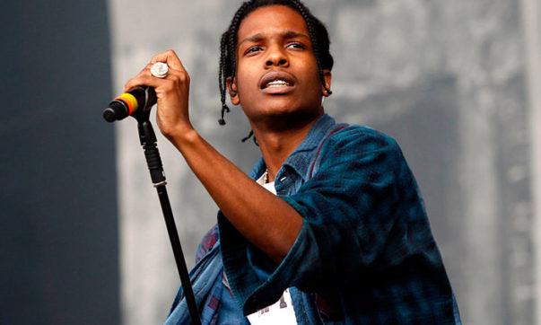 [WATCH] A$AP Rocky's Surprise 'Lab Rat' Art Performance