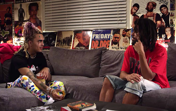 [WATCH] J. Cole and Lil Pump Interview Each Other