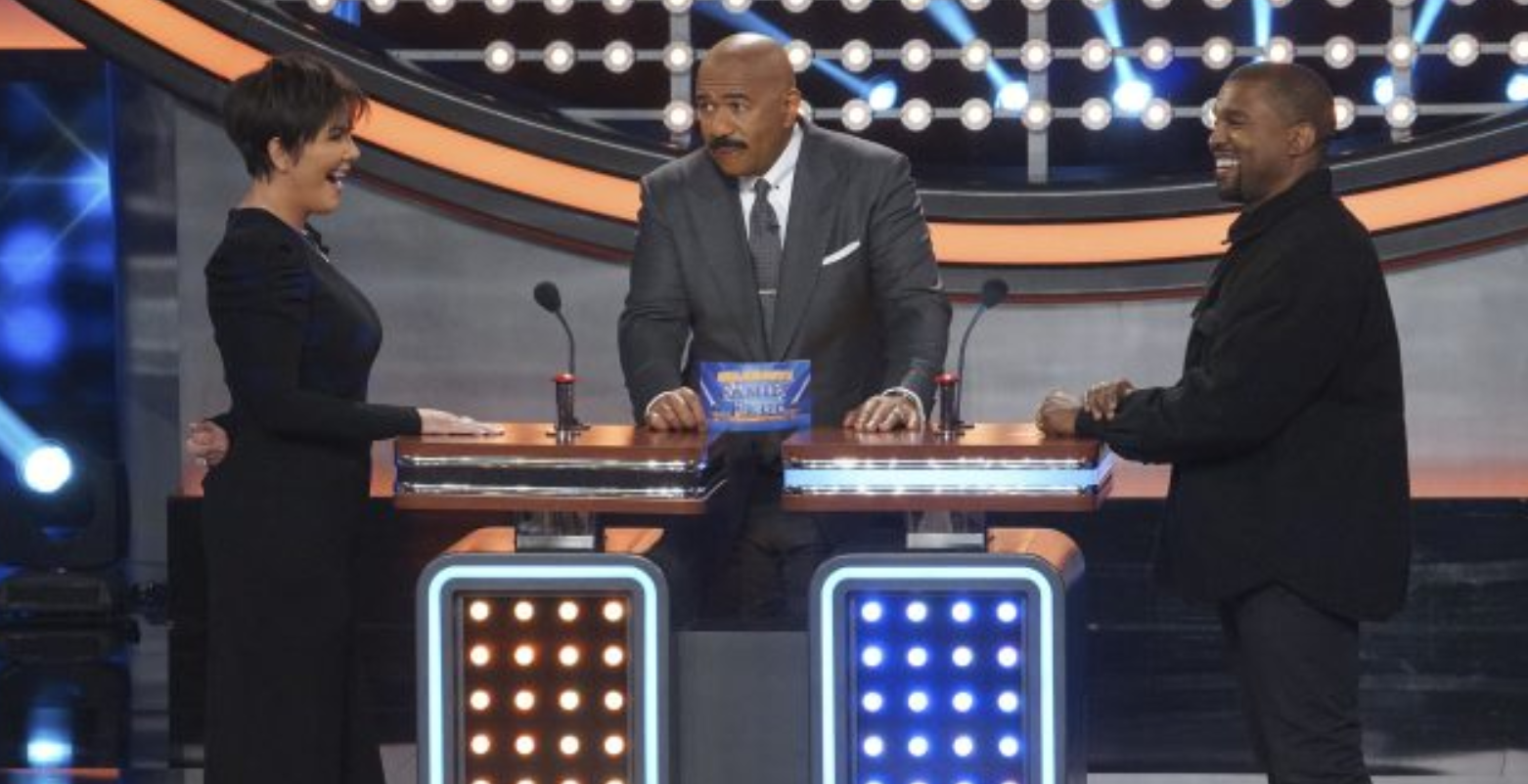 Sneak Peak of Kanye & the Kardashians' Family Feud Appearance