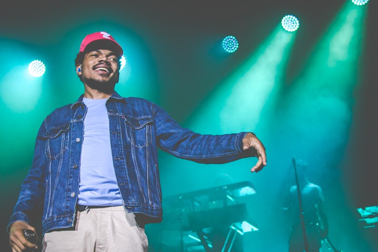 Chance The Rapper Surprises High School With Childish Gambino Performance