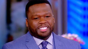 50 Cent Speaks on Terry Crew & the #MeToo Movement on 'The View'