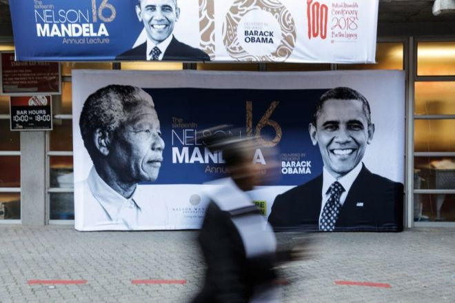 Barack Obama to Deliver 2018 Nelson Mandela Lecture