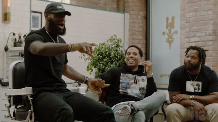 LeBron James Explains Why he Regrets Giving his Son his Name on 'The Shop'