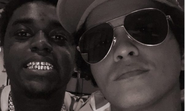 Are Kodak Black and Bruno Mars Working on Music Together?