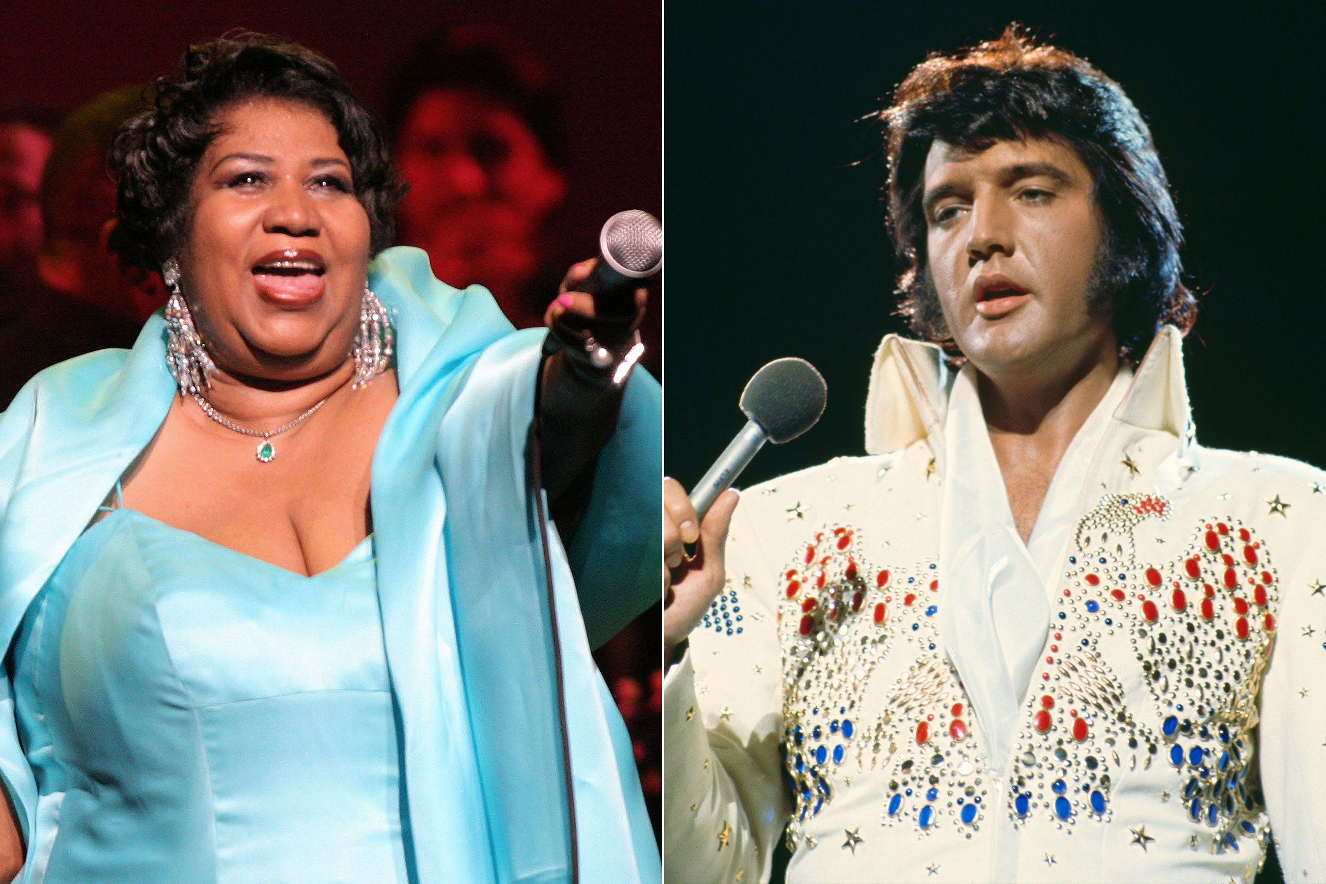 Aretha Franklin Died the Same Day as Elvis Presley - TWO BEES
