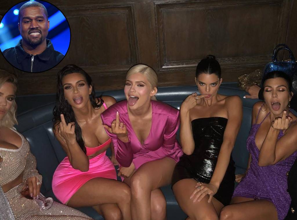Kanye West Admits That He'll Smash All his Sisters-in Law in New Song 'XTCY'