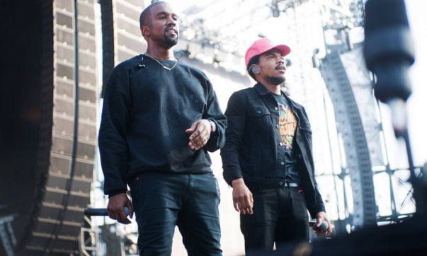 Kanye West Returns to Chicago to Work on Joint Album With Chance The Rapper