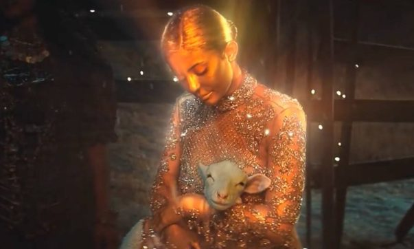 Kylie Jenner Stars as Virgin Mary in Travis Scott's Video, 'Stop Trying to Be God'