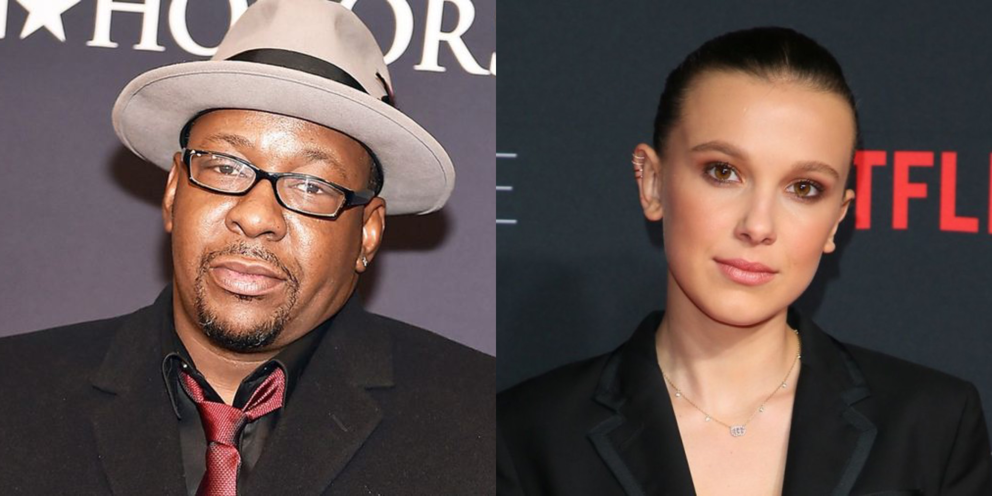 Bobby Brown meets Millie Bobby Brown at the Emmys