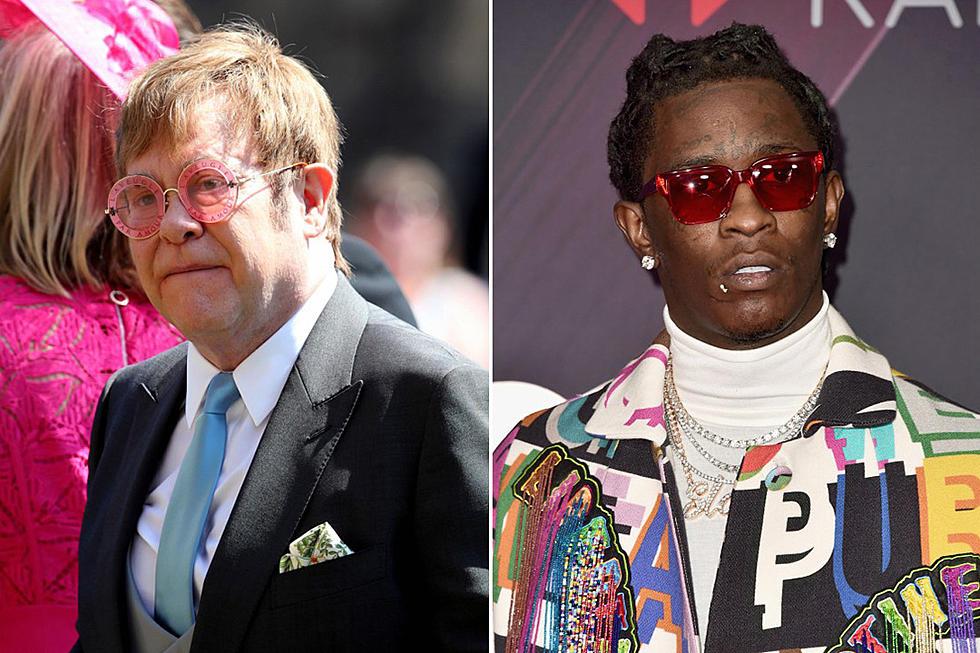 Elton John Praises Young Thug's Rendition of 'Rocket Man'