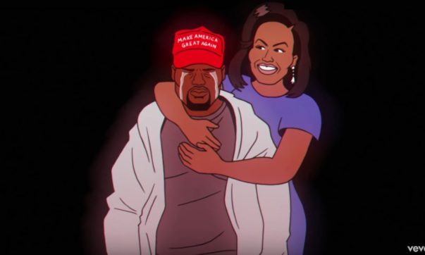 Kanye West Cries as Michelle Obama Embraces him in Childish Gambino's 'Feels Like Summer' Video