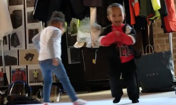 Kanye West and Chance The Rapper's Children Dance to Michael Jackson's 'Thriller'