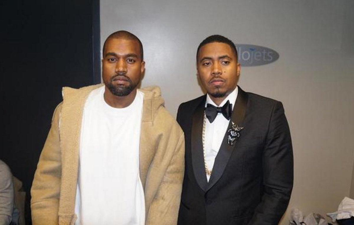 Nas Was Skeptical About Recording in Wyoming With Kanye West at First