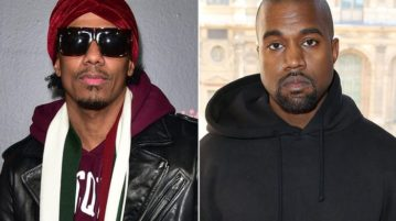 Nick Cannon Responds to Kanye West's Kim Kardashian Threats