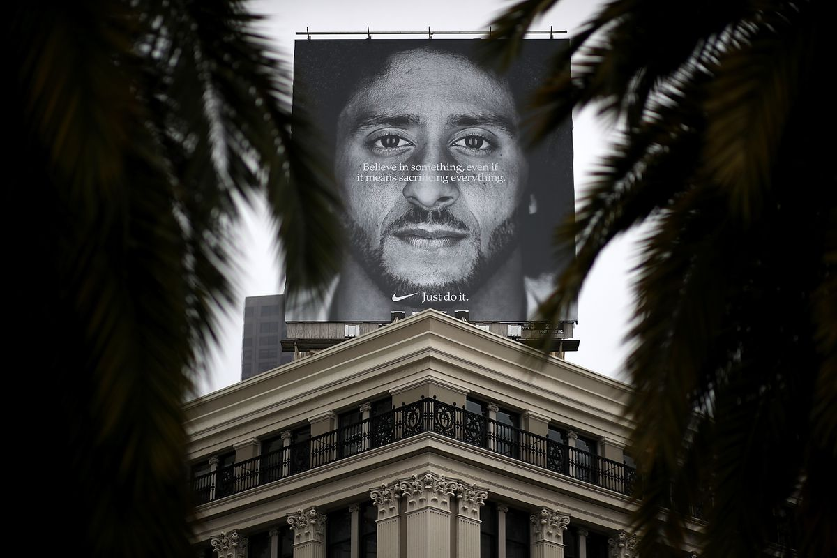 Nike's Online Sales Reportedly Increased 31% Amid Colin Kaepernick Ad
