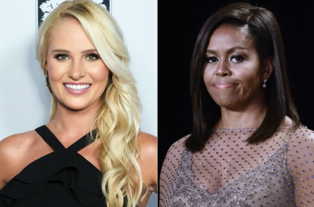 Tomi Lahren Tells Michelle Obama to 'Sit Down,' Wale Defends Former FLOTUS