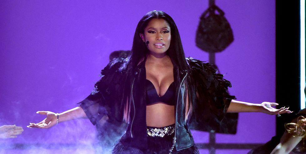 Nicki Minaj's Nipple Slip At Made In America Festival Steals The Show