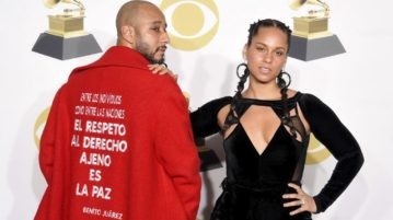 Alicia Keys Surprises Swizz Beatz With Aston Martin for his 40th Birthday