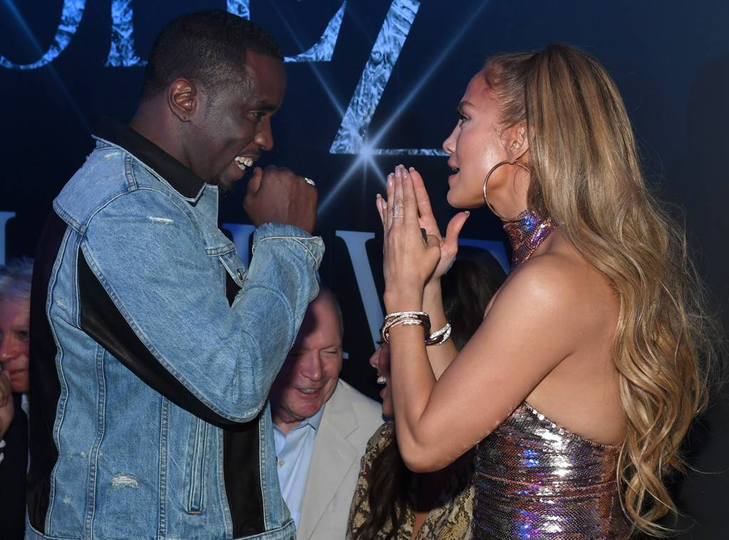 Jennifer Lopez and Diddy Reunite at her Final Las Vegas Show