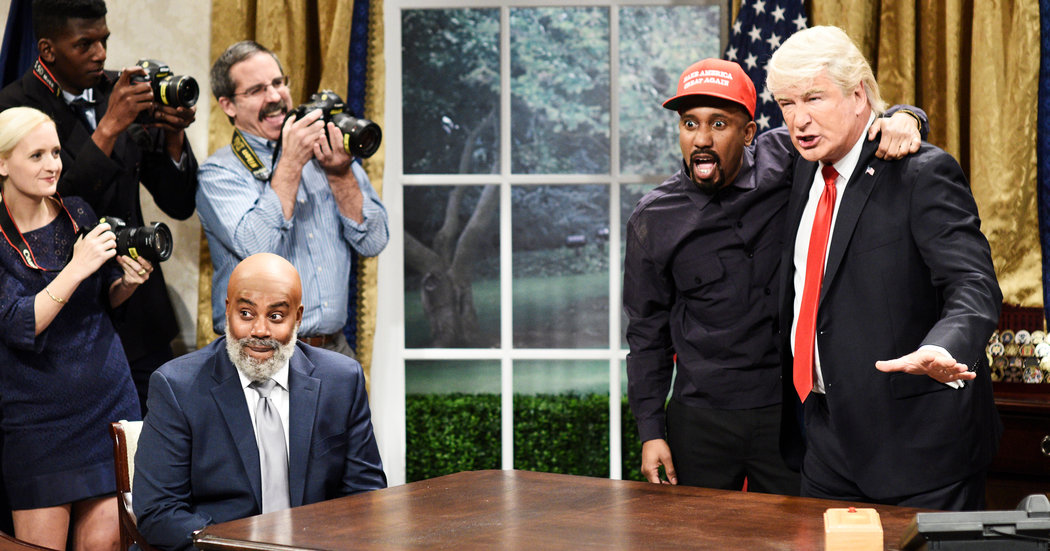Kanye West's Recent Meeting With Trump Gets SNL Spoof Treatment