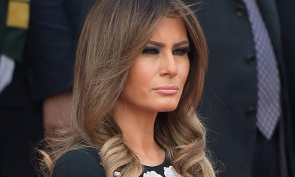 Melania Trump Says #MeToo Accusers Need 'Hard Evidence'