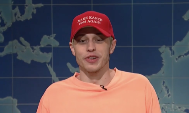 Pete Davidson Takes Jabs at Kanye West on 'SNL' Amid Pro-Trump Rant