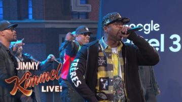 Wu-Tang Clan Appear on 'Jimmy Kimmel Live!' to Perform 'C.R.E.A.M' and 'Protect Ya Neck'
