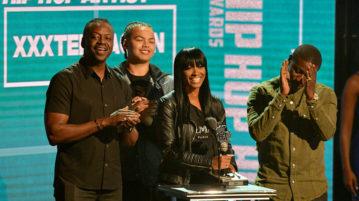 XXXTentacion was Posthomously Awarded Best New Artist at 2018 BET Hip-Hop Awards