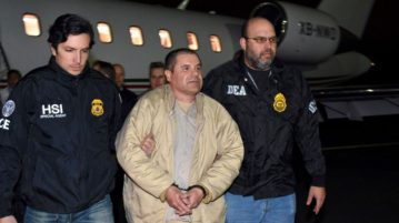 El Chapo's Request to Hug Wife at Trial Denied
